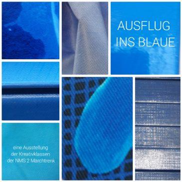 """Gastausstellung """"Ausflug ins Blaue"""""""