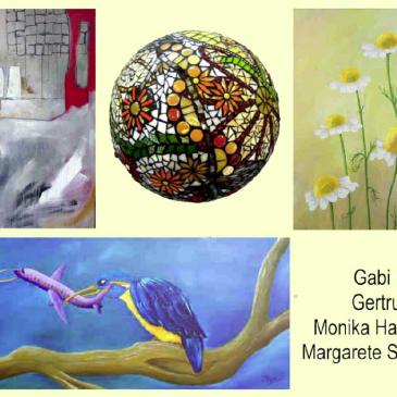"""Gastausstellung """"GG quattrart MM"""""""