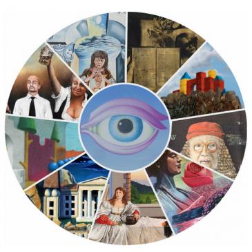 """Gastausstellung """"Imago – surrealistisch-phantastische Welten"""""""