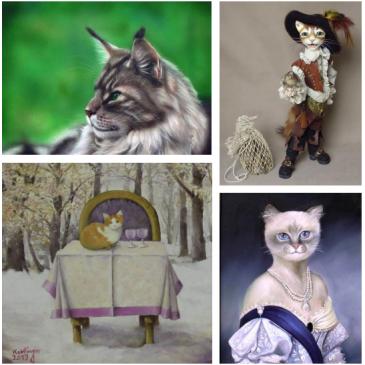 """Ausstellung """"Alles für die Katz"""""""