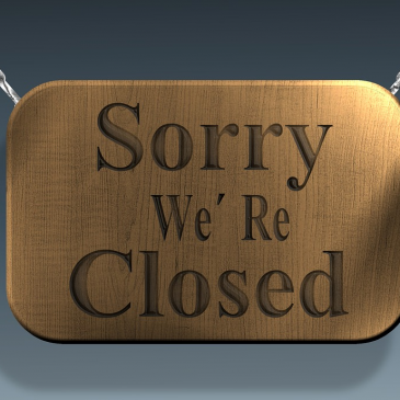 Galerie geschlossen